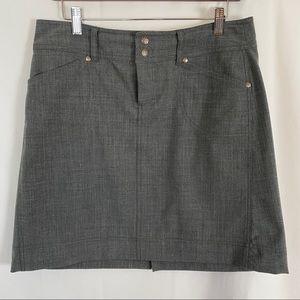 Athleta grey skirt